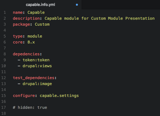 Custom Modules